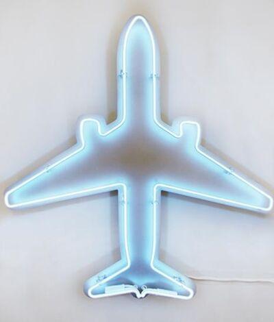 Jeffrey Milstein, 'Neon Air Canada Boeing 767-300', 2019
