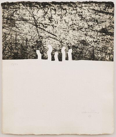 Eduardo Chillida, 'Zurt (Alerta)', 1990