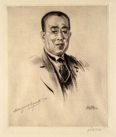 Walter Tittle, 'Prince Tokugawa', 1921