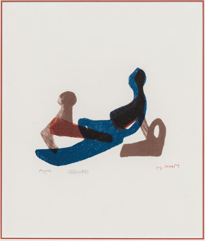 Henry Moore, 'Mother and Child, from the Italian edition of The Shelter Sketchbook', 1967