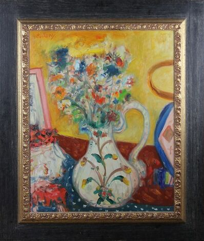 John Bellany R.A., 'Still life with flowers', ca. 2000