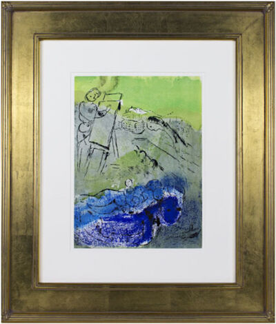 Marc Chagall, 'Vision of Paris II M81', c.1940