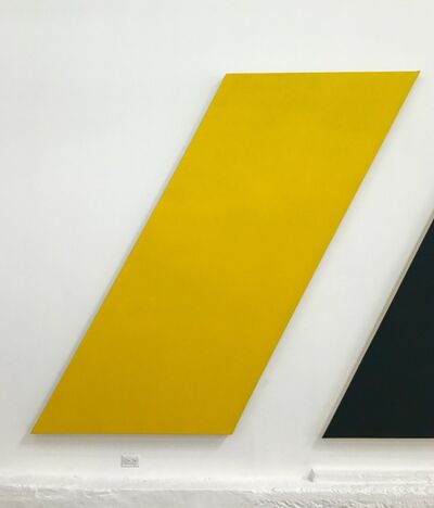 Olivier Mosset, 'Untitled (Yellow Apostrophe)', 2013