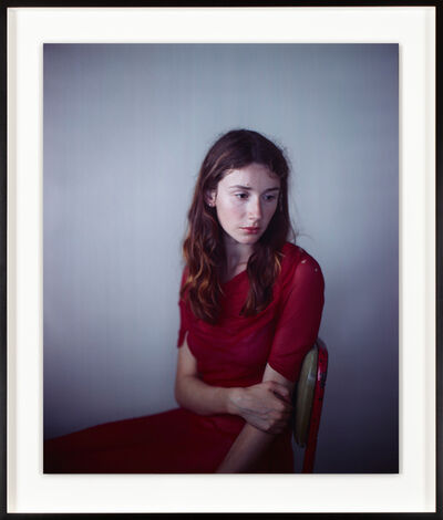 Richard Learoyd, 'Tatiana red dress', 2010