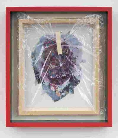 Pope.L, 'Mr. N (frame)', 2000-04/2014