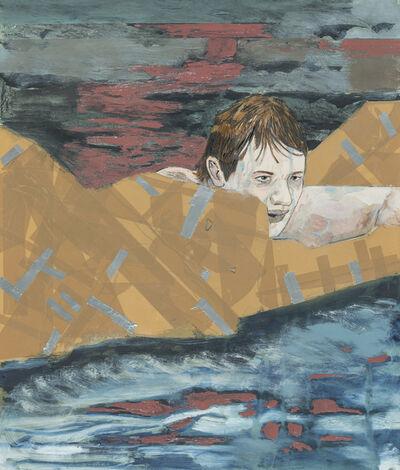Hernan Bas, 'Suicide Sunday (Head above Water)', 2017