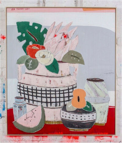 Rob Tucker, 'A Study for a Salami and Sun Dried Tomato Salad, 2017-122 x 142 x 4,5 cm', 2017