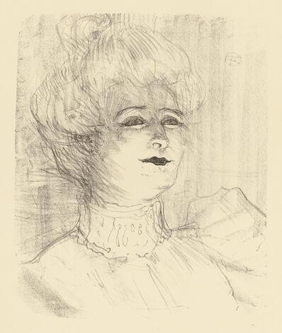 Henri de Toulouse-Lautrec, 'MARIE-LOUISE MARSY', 1898