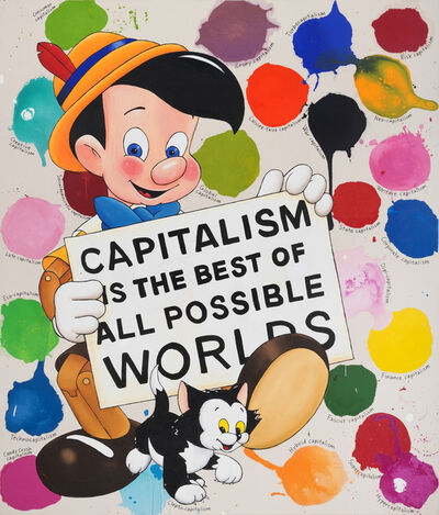Riiko Sakkinen, 'Capitalism is the Best of All Possible Worlds', 2017