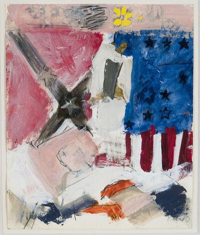 Larry Rivers, 'Confederate Veteran Dying', 1961