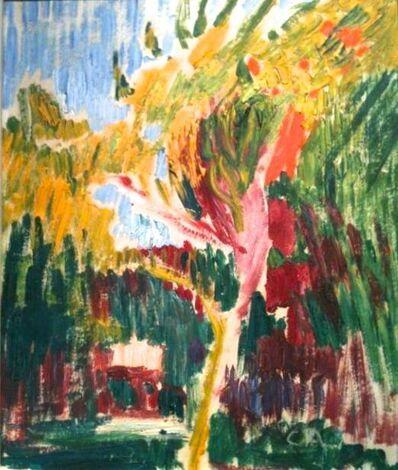 Cuno Amiet, 'Bäumchen (small tree)', 1915-1920