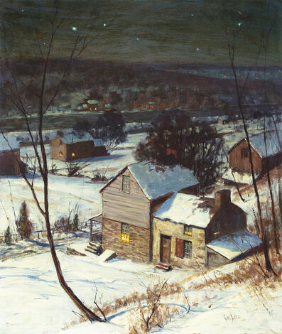George William Sotter, 'The Neighbor's House', 1949