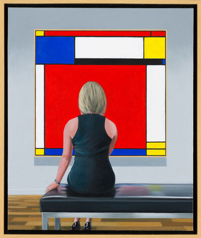 Jamie Perry, 'Mondrian Red #2', 2017