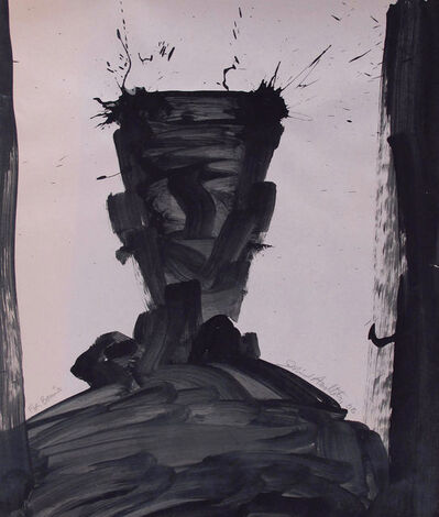 Richard Hambleton, 'Shadow Head Portrait', 2006