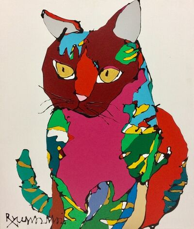 Ryuma Imai, 'Cat (red)', 2020
