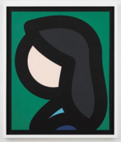 Julian Opie, 'Paper Head 6', 2019