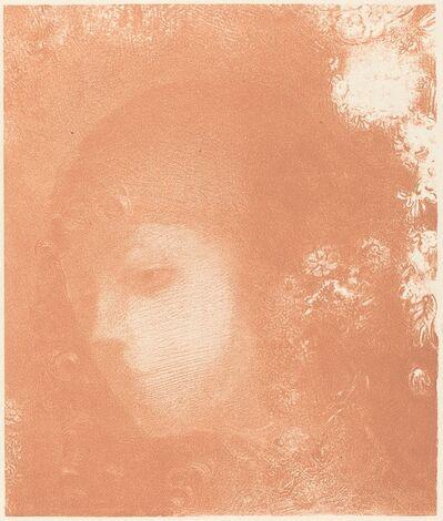 Odilon Redon, 'Tete d'Enfant avec Fleurs (Head of a Child with Flowers)', 1897