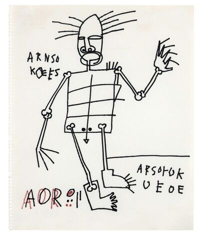 Jean-Michel Basquiat, 'Untitled', 1981