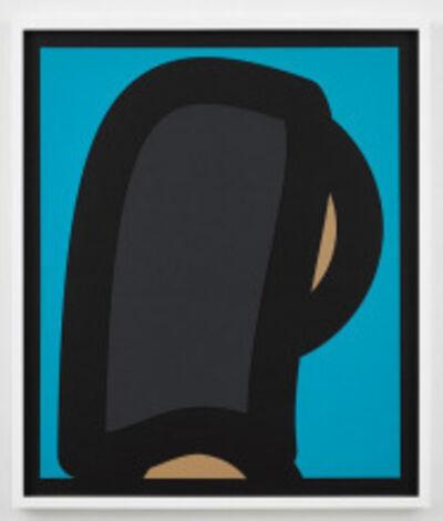 Julian Opie, 'Paper Head 2', 2019