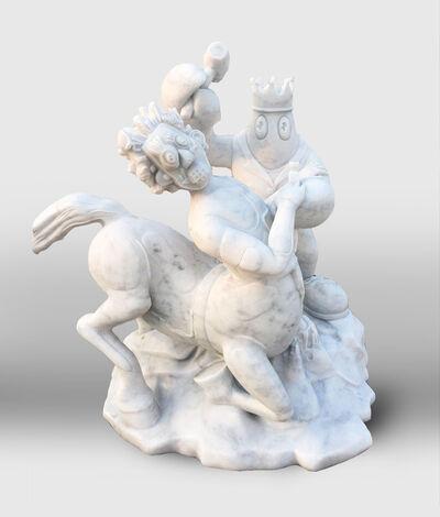 Philip Colbert, 'Lobster Sculptor (Centaur)', 2020