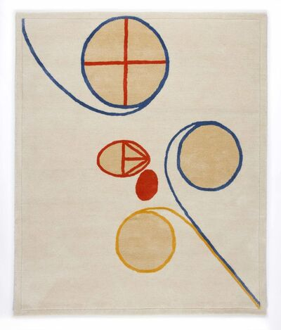 Hilma af Klint, 'Group V, no 2. Series WUS, Seven Pointed Star', 2018