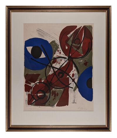 Ernst Wilhelm Nay, 'Dominant-Blau', 1964
