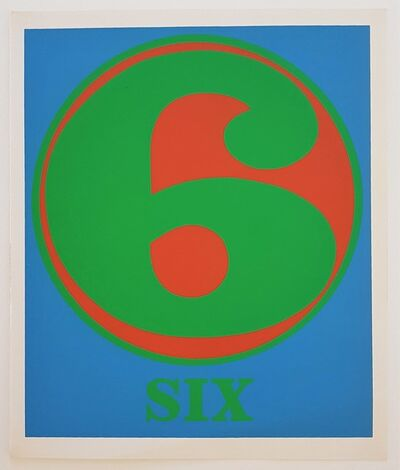 "Robert Indiana, 'Numbers Suite: ""Six""', 1968"