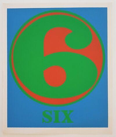 "Robert Indiana, 'Numbers Suite: ""Six""', 1968"