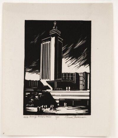 Mark Freeman, 'Chicago Worlds Fair (#2): Hall of Science Tower(Portfolio of 6)', 1933