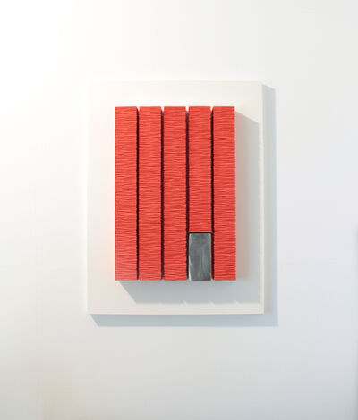Masayuki Tsubota, 'the wall of self (YT-1096)', 2017