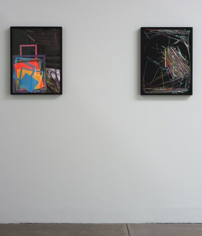 Mads Lynnerup, 'Astro Bright #1 (left) and Astro Bright #2 (right), installation view', 2011