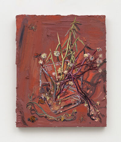Allison Schulnik, 'Desert Pincushion #4', 2019