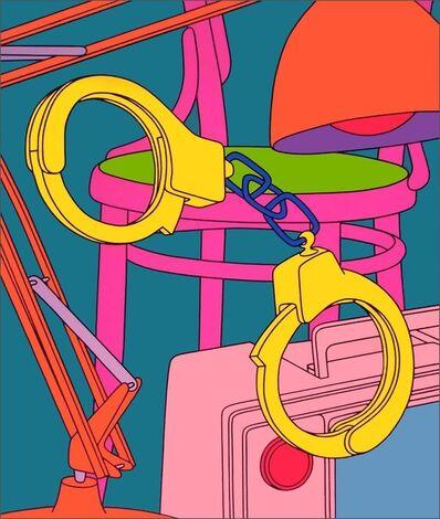 Michael Craig-Martin, 'Intimate Relations: Handcuffs', 2001