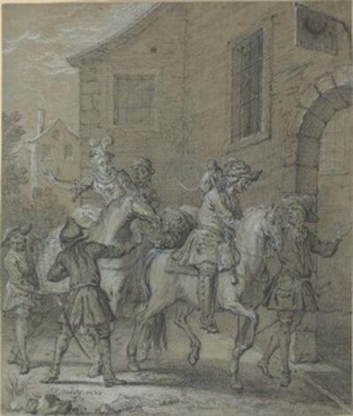 Jean-Baptiste Oudry, 'L'Arrivee de l'Operateur dans l'hotellerie', 1727