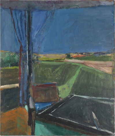 Richard Diebenkorn, 'Black Table', 1960