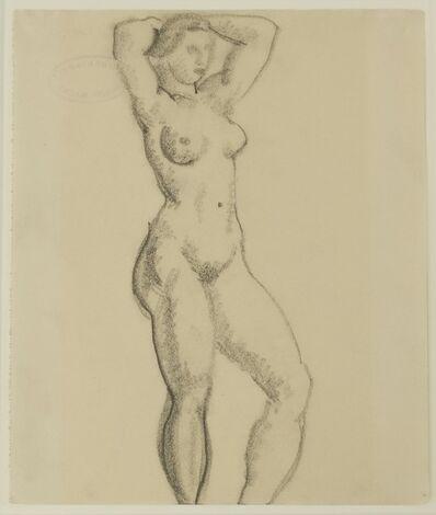 August Macke, 'Akt (Nude)', 1912