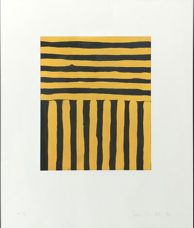 Sean Scully, 'Untitled (Heart of Darkness)', 1992