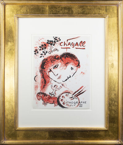 """Marc Chagall, 'Front Cover of """"Chagall Lithographe III,"""" M 577,', 13992"""