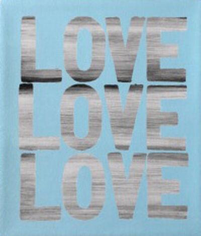 Matthew Heller, 'Love Love Love (Blue)', 2018