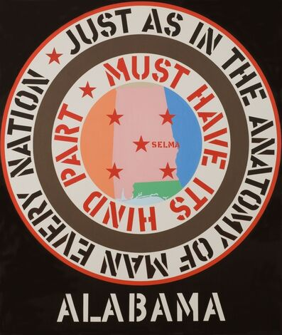 Robert Indiana, 'The Confederacy: Alabama', 1965