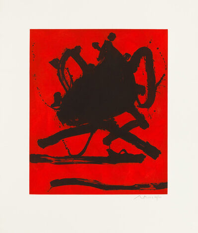 Robert Motherwell, 'Red Sea II', 1979