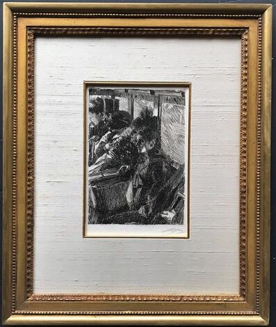 Anders Leonard Zorn, 'Omnibus', ca. 1893