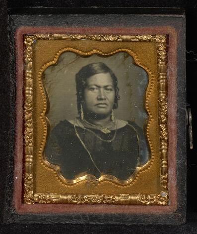 Dr. Hugo Stangenwald, 'Portrait of Queen Kalama of Hawaii', 1853-1854