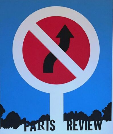 Allan D'Arcangelo, 'Paris Review', 1964-5