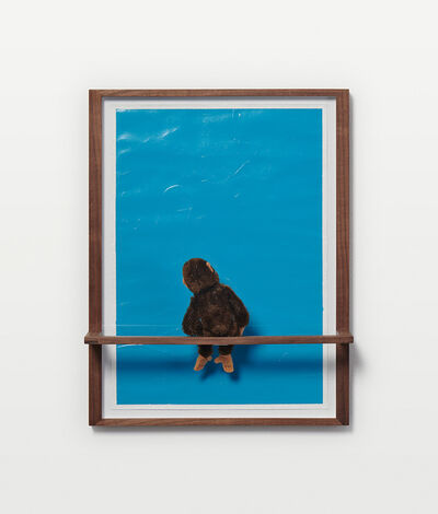 Philip Emde, 'Untitled (Jocko not sure about Blue )', 2019