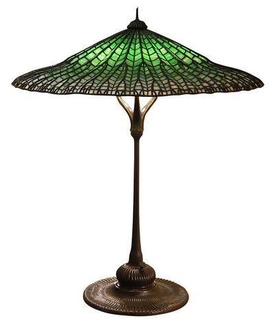 Tiffany Studios, 'Lotus Pagoda table lamp', ca. 1906