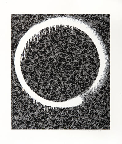 Takashi Murakami, 'Enso: Facing The Pitch-Black Void', 2018