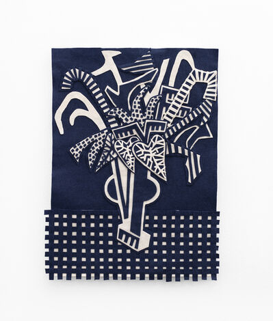 Jody Paulsen, 'Midnight Blue and Ivory II', 2020