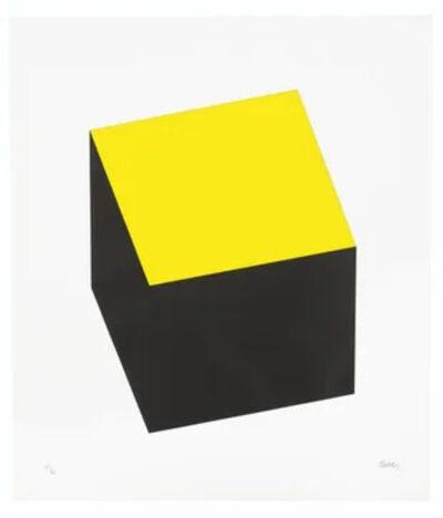 Ellsworth Kelly, 'Yellow/Black', 1970