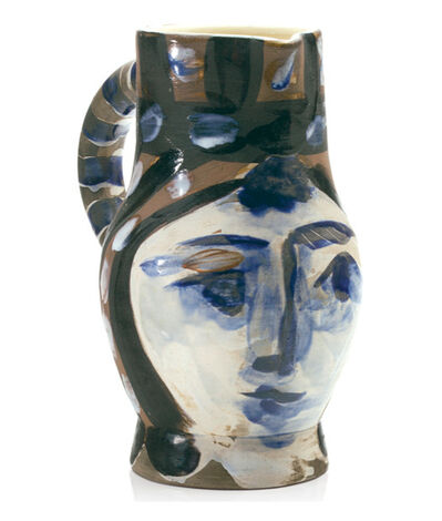 Pablo Picasso, 'Tête peinte (A. R. 212)', 1953